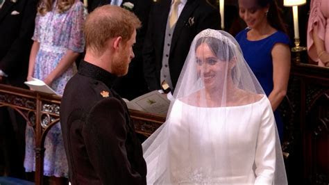 Meghan Markle and Prince Harry Gaze Lovingly at Each Other