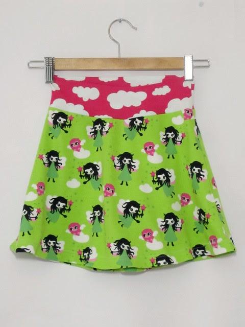 green fairy tennis skirt