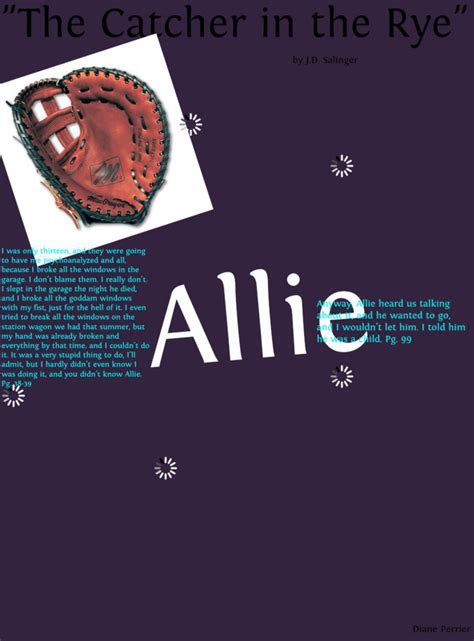 Catcher In The Rye Quotes Involving Allie