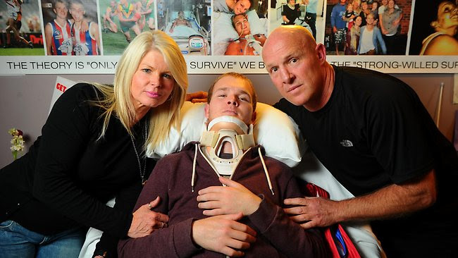 Payout blunder for Beau Vernon after football accident in Leongatha and Wonthaggi match   Herald Sun