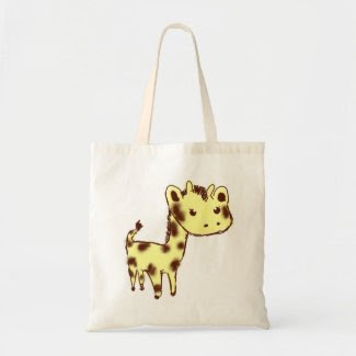 Cute Yellow Giraffe Bag bag