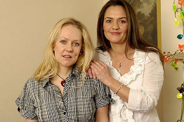 Claire and Amanda Robinson (Pic:PA)