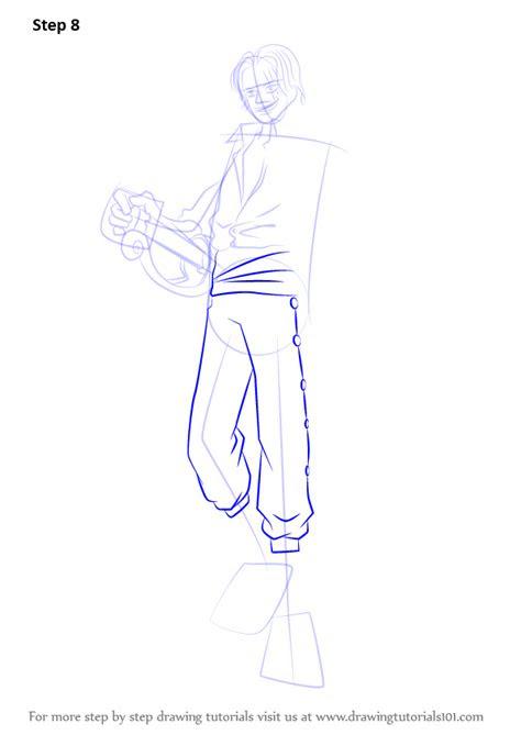 learn   draw shanks   piece  piece step