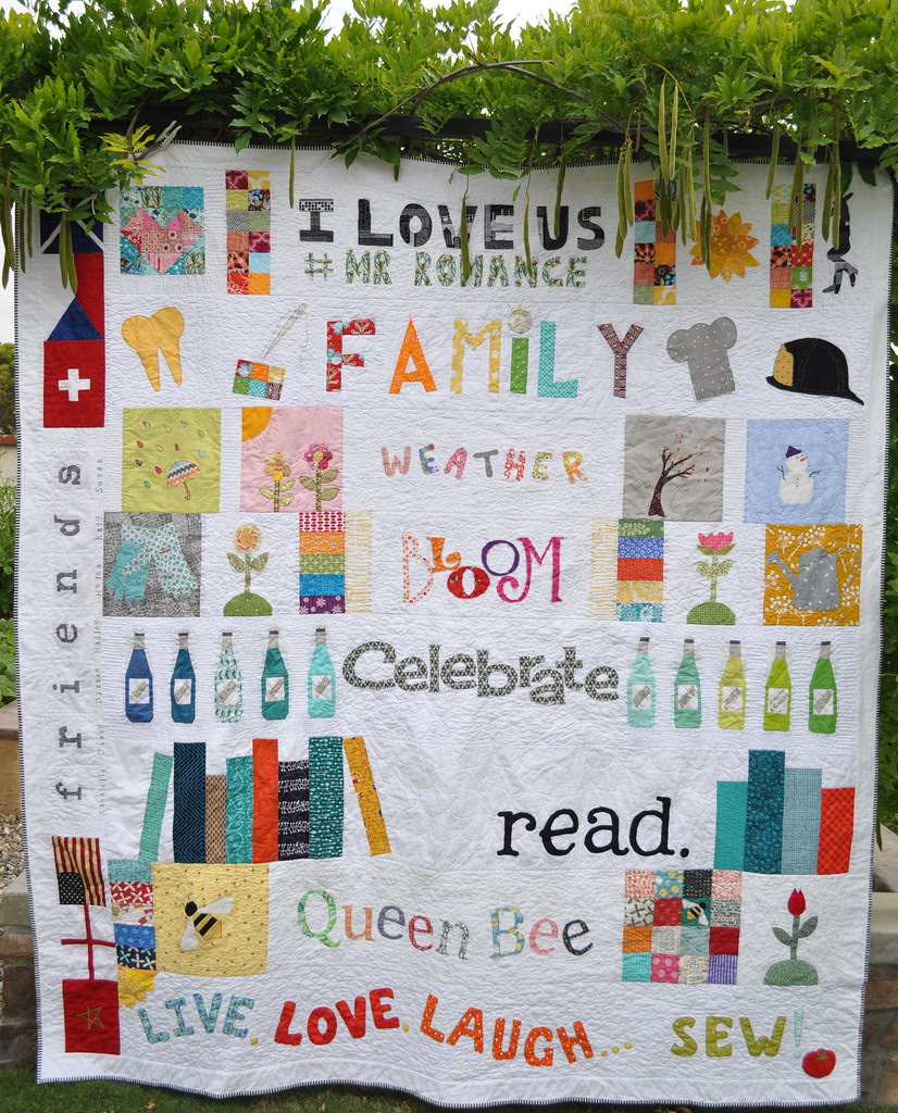 Wordy Friends Quilt