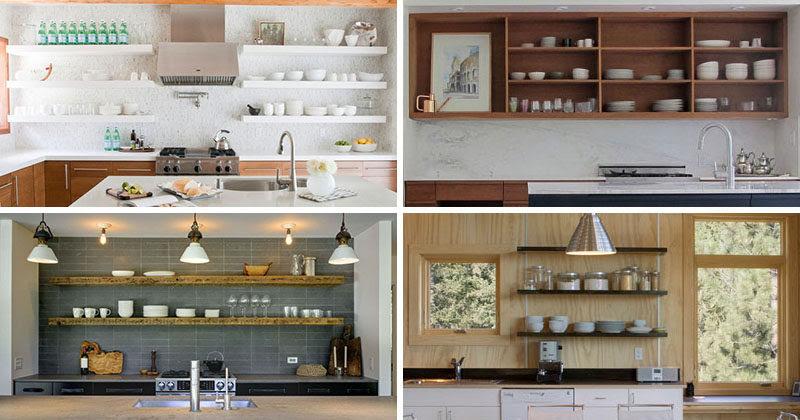 Open Shelves Kitchen Design Ideas Home Architec Ideas