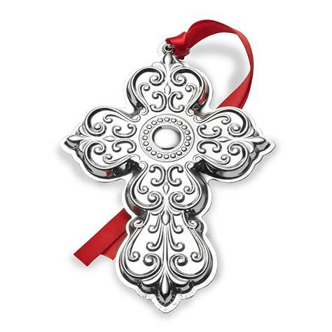Towle Silver Cross 2017   Towle Christmas Ornament