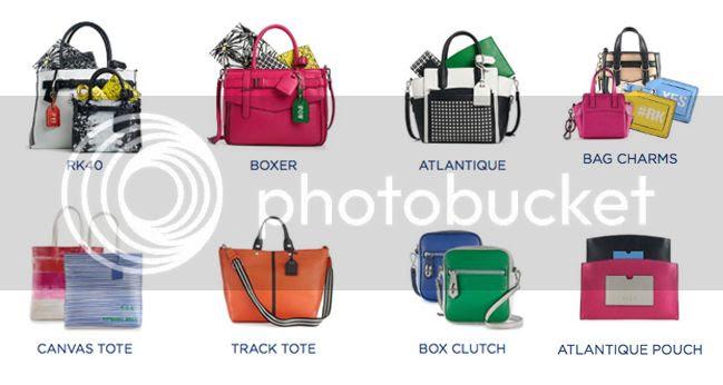 Reed for Kohl's lookbook, Reed for Kohl's handbags