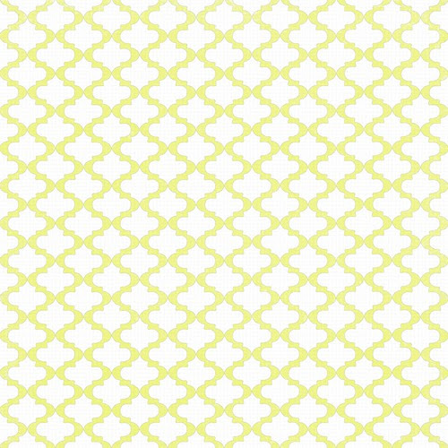 4 Chartreuse sketched Moroccan Tile 12 and a half inches 350dpi
