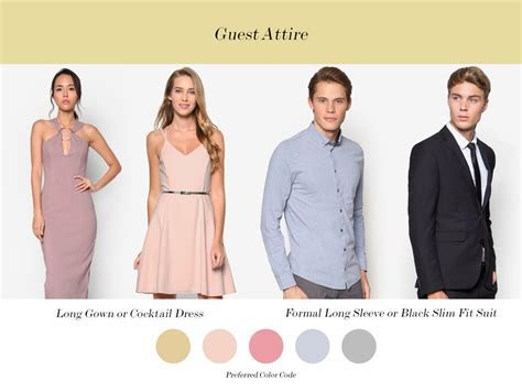 Formal Wedding Guest Dress Code   raveitsafe
