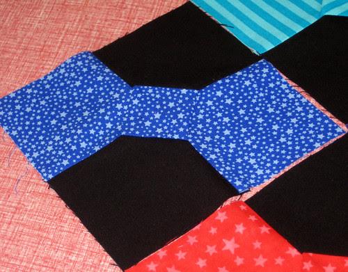 blue star bowtie