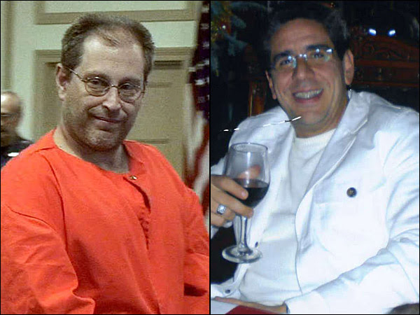 Nicodemo Scarfo, left, and Salvatore Pelullo of Elkins Park are accused of defrauding Texas-based FirstPlus Financial Group out of millions of dollars. Their trial is in federal court in Camden. (File photos)