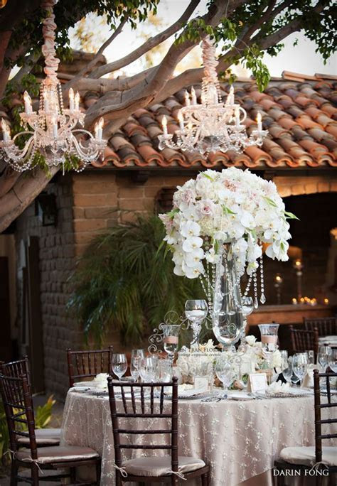 Chandeliers and Outdoor Weddings   Receptions, The