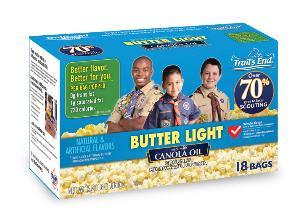 boy scout microwave popcorn nutrition information