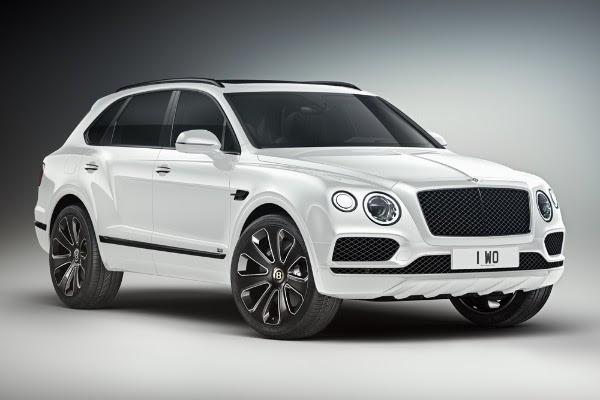 White Bentley Truck 2020