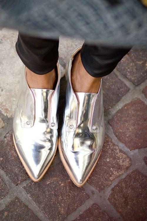 metallic-shoes-style