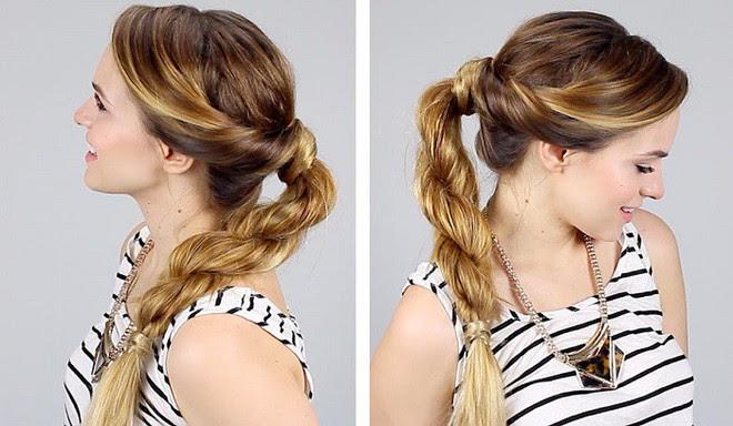 Tự tin giấu tóc bết dầu nhờ những kiểu tóc siêu đẹp và đơn giản trong dịp Tết - Ảnh 12.