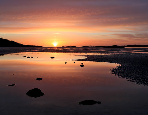 Sunset Reflections by Mike Bolam