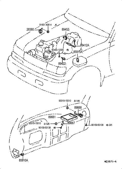 8942235010 - TOYOTA Sensor, diesel engine water