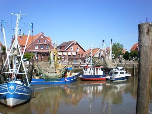 Neuharlingersiel Harbour