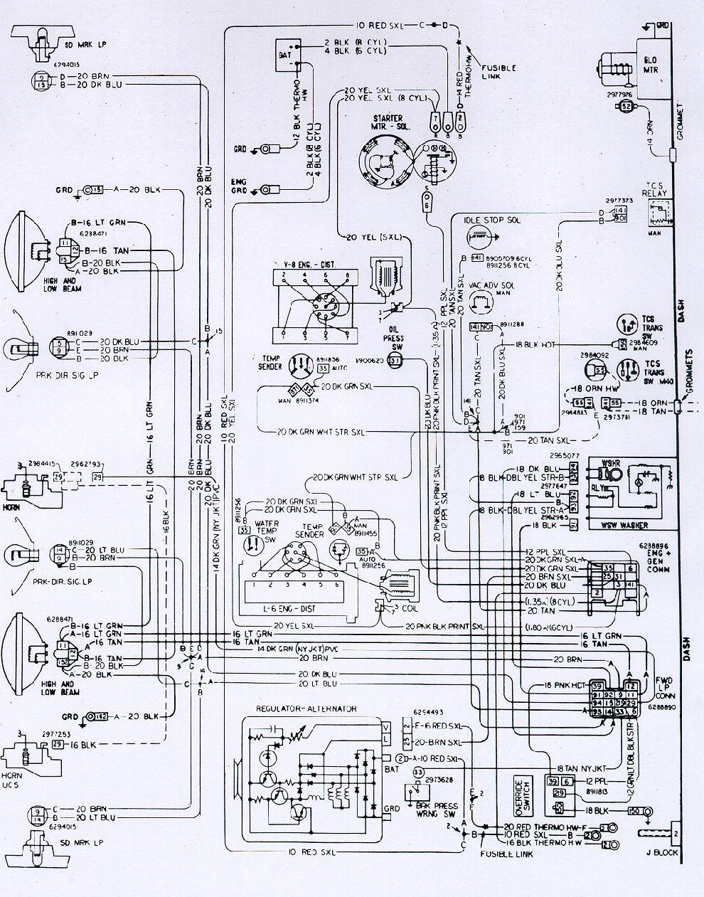 Wiring Diagram 1970 Camaro Wiring Diagram View A View A Zaafran It