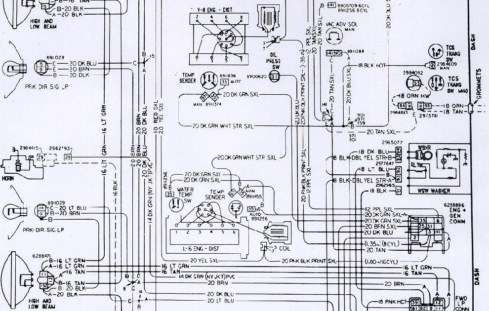 71 Camaro Wiring Diagram