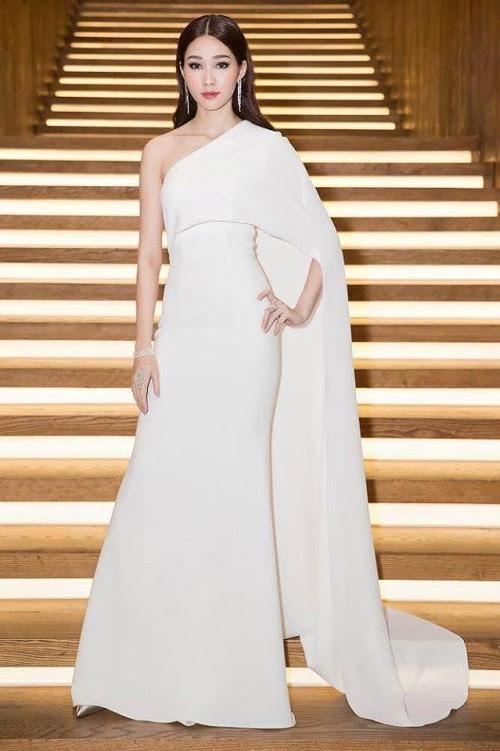 'Vòng eo 53 cm' Tường Linh kém sang khi mặc lại 'váy cũ' của Đặng Thu Thảo - Ảnh 6.
