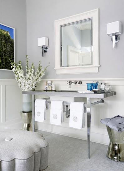 bathroom - Jennifer Flanders Interior Design