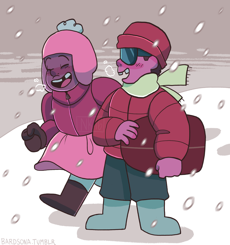 bundle up, kiddos!!! they were so cute in this episode… ;_;