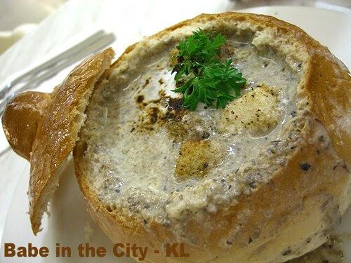Zuup - Wild Mushroom Cappucino in Bread Bowl