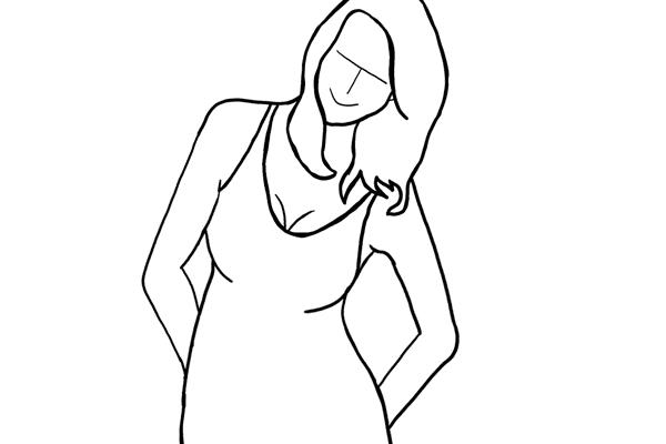 Позирование: позы для женского портрета 2-14