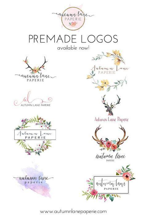 Autumn Lane Paperie   Pre made Logos   Pre designed Logos