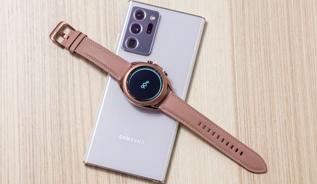 Samsung Galaxy Watch3 Receives First Software Update