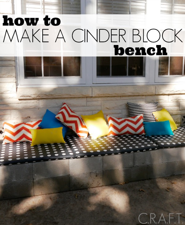 DIY outdoor bench - C.R.A.F.T.