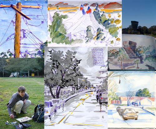 For the Urban Sketchers Blog Intro