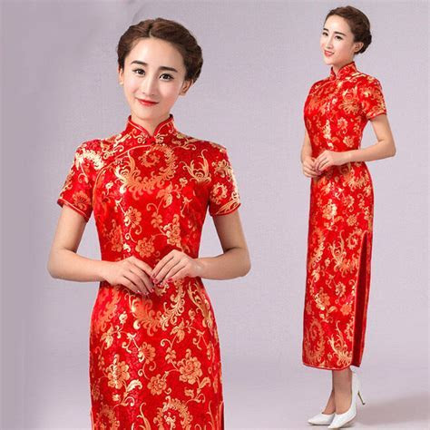 Womens Lady Cheongsam Chinese Qipao Wedding Party Cocktail