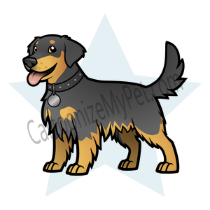 Here's the cartoon Golden Retriever I made at Cartoonize My Pet!