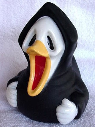 Bath Toys Blog Scary Scream Halloween Rubber Duck Review