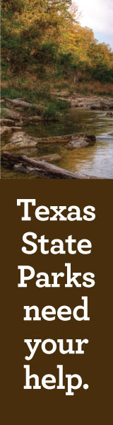 Texas State Parks need your help