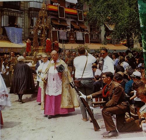 Corpus de Toledo en los años 60