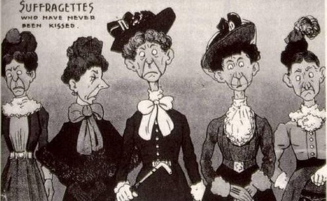 sufragistas carteles contra el derecho de voto mujeres (4)