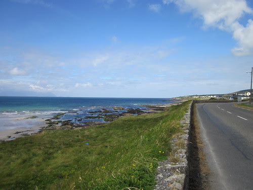Heading west out to Kerry Head