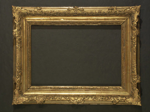 Vienna Gold Frame Painting By Robert Schoeller