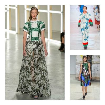 Spring 2013 - Unconventional Florals