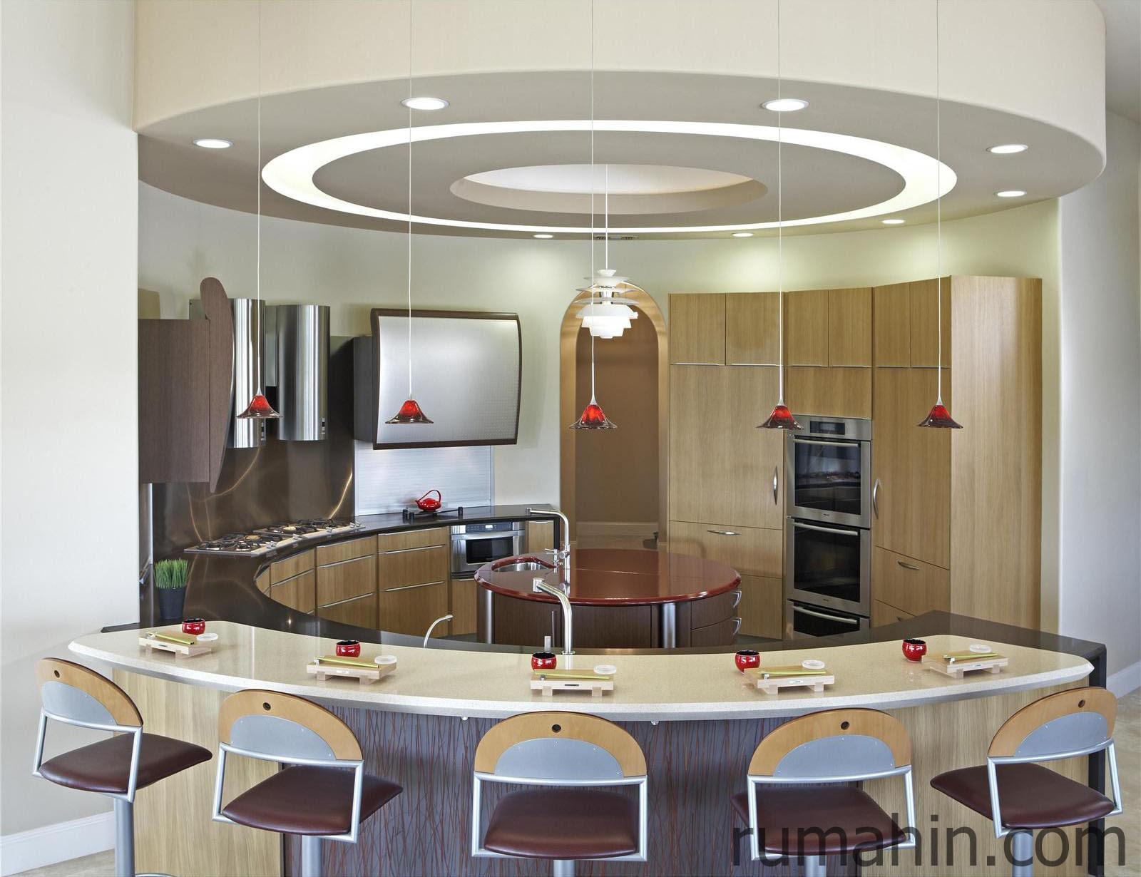 Desain Dapur Unik Modern Seperti Cafe Cozy Rumahin