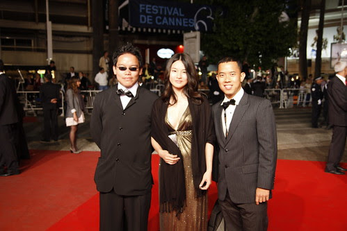 Me, Ming Jin and Fooi Mun at red carpet event