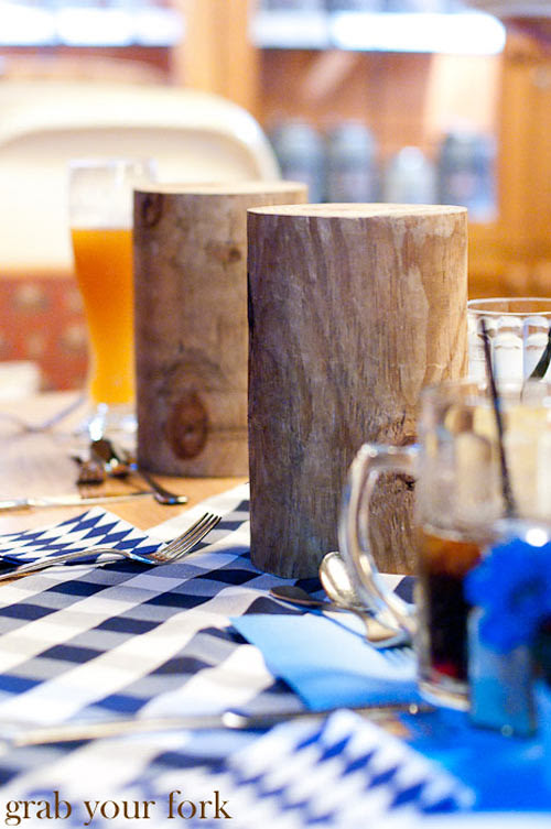 lowenbrau wood stumps