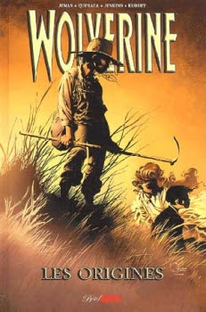 Couverture Wolverine, les origines
