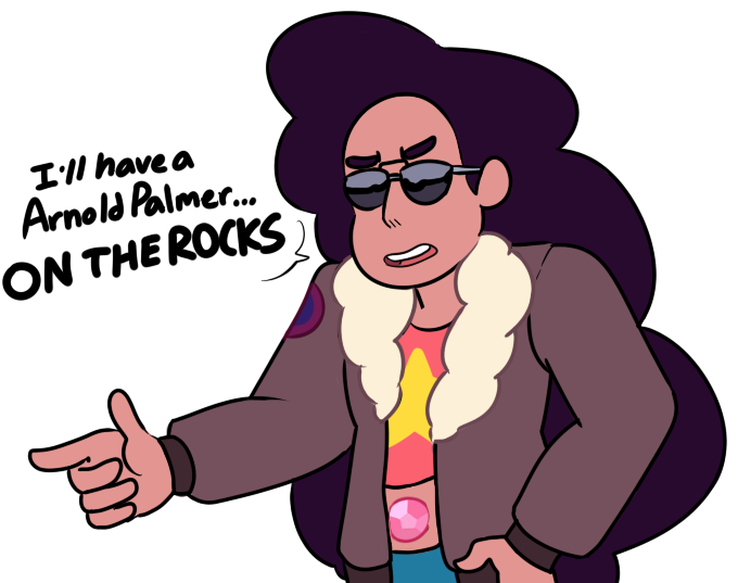Stevonnie's back with puns