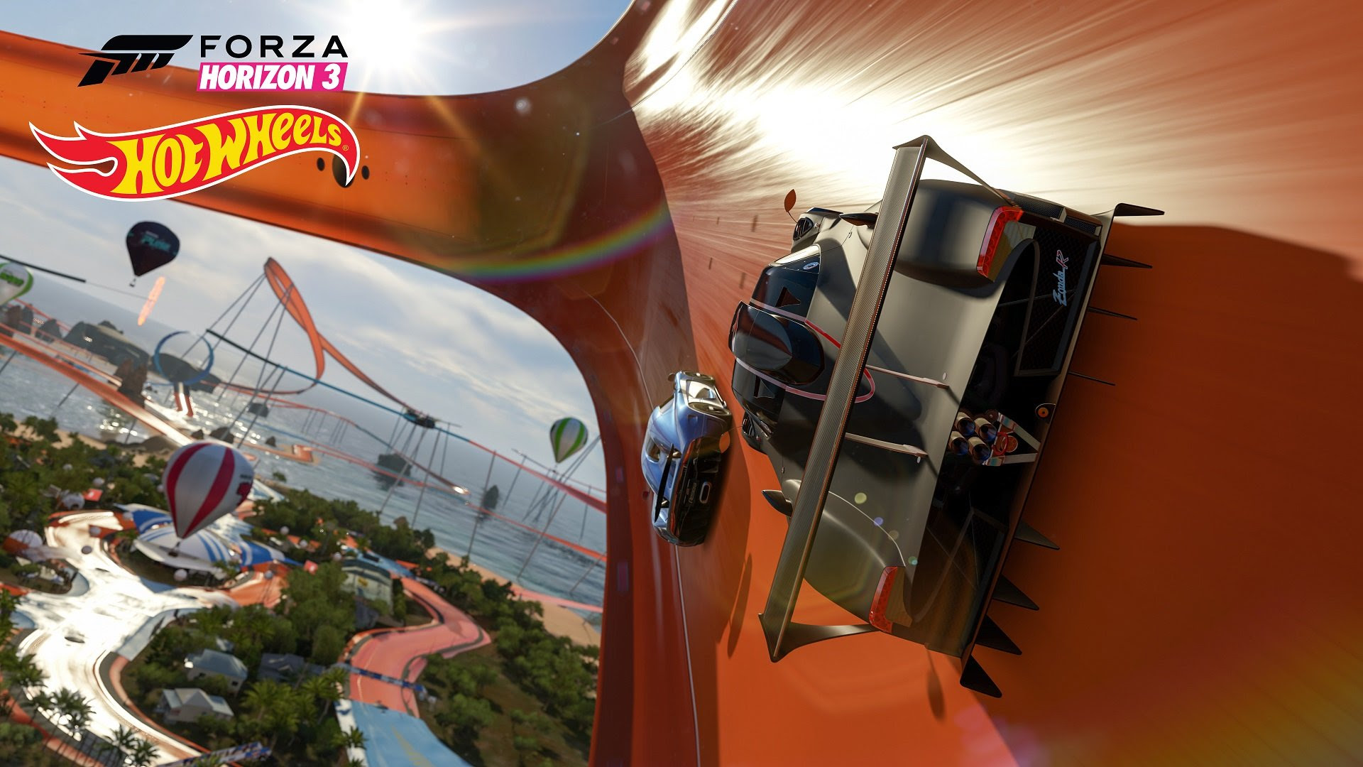 Forza Horizon goes more unrealistic than ever with upcoming Hot Wheels add-on screenshot