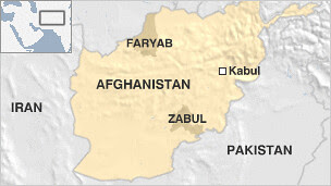 Map showing where a NATO plane went down in Afghanistan killing at least four US-led personnel. The imperialist war in Afghanistan has entered its 12th years with no end in sight. by Pan-African News Wire File Photos